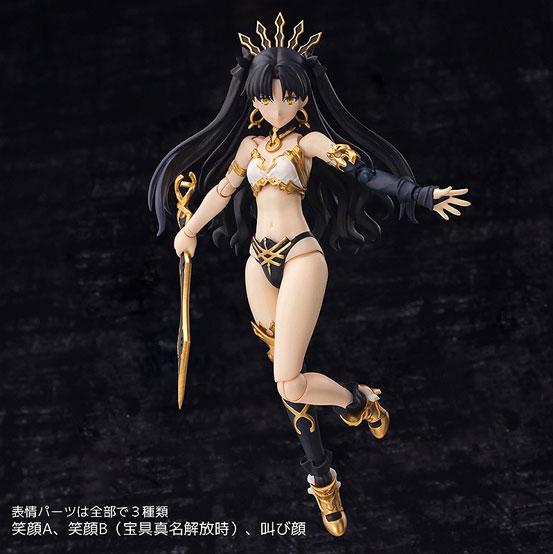 アマンナは約22cmのビッグサイズ!4インチネル Fate/GO アーチャー/イシュタル 可動フィギュアが予約開始! 0405hobby-isyutal-IM004