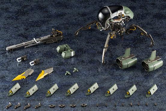 コトブキヤ「ヘキサギア ブロックバスターVF仕様」プラモデルが予約開始!2種類のマルチミサイルが付属! 0409hobby-hexgear-IM003