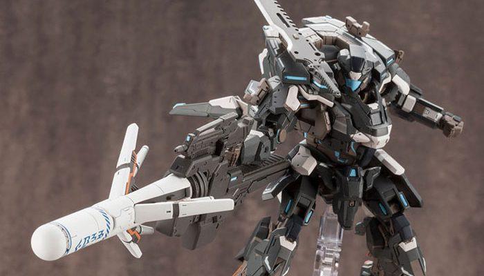 ファンタシースターオンライン2 A.I.S Black Ver. プラモデルが予約開始!完全新規パーツとして凍結弾が付属!