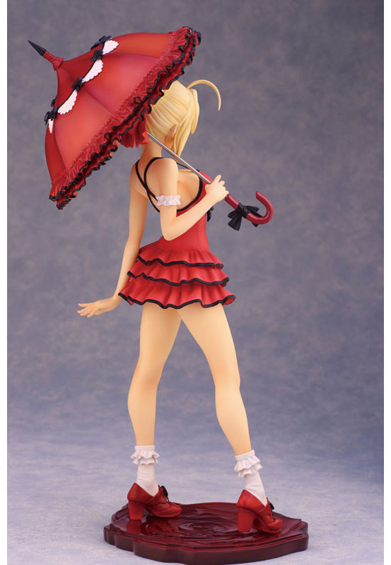 Fate/EXTRA CCC セイバー ワンピースver. フィギュアが再販で登場!【真紅の現代衣装】をまとった赤王、セイバー! 0424hobby-saber-IM003