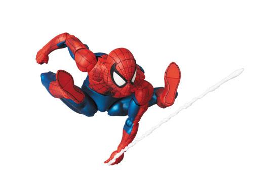 コミック版のイメージを完全再現!マフェックス No.075 MAFEX SPIDER-MAN(COMIC Ver.) 可動フィギュアが再販予約開始! 0424hobby-spidy-IM001