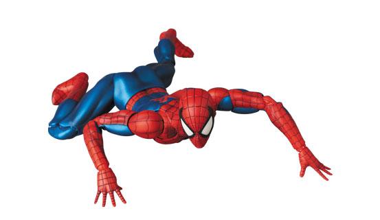 コミック版のイメージを完全再現!マフェックス No.075 MAFEX SPIDER-MAN(COMIC Ver.) 可動フィギュアが再販予約開始! 0424hobby-spidy-IM006
