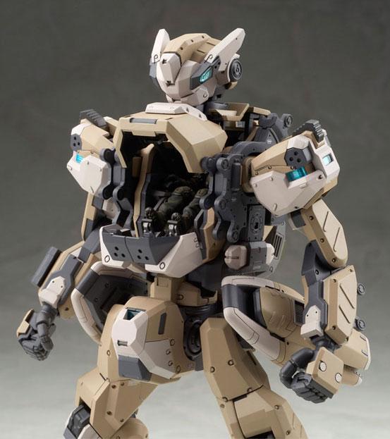 アルター「1/35 ボーダーブレイク クーガーNX 強襲兵装」プラモデル が登場!コクピットハッチの内部も精密に再現! 0509hobby-boder-IM006