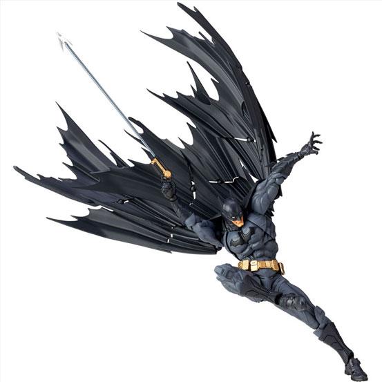 """""""蝙蝠""""形のマントを再現可能!アメイジング・ヤマグチ No.009「バットマン」 可動フィギュア が登場! 0511hobby-batman-IM005"""
