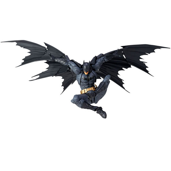 """""""蝙蝠""""形のマントを再現可能!アメイジング・ヤマグチ No.009「バットマン」 可動フィギュア が予約開始! 0511hobby-batman-IM006"""