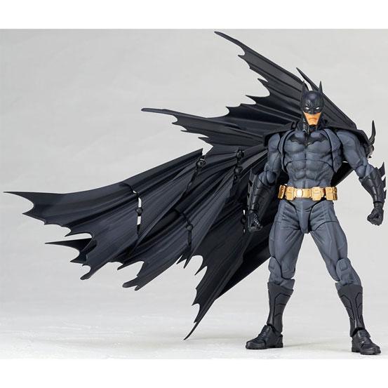 """""""蝙蝠""""形のマントを再現可能!アメイジング・ヤマグチ No.009「バットマン」 可動フィギュア が登場! 0511hobby-batman-IM008"""