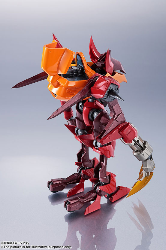 METAL ROBOT魂 <SIDE KMF> 紅蓮聖天八極式 バンダイ 可動フィギュアが登場!劇中さながらのギミックを搭載! 0530hobby-guren-IM002