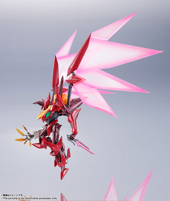 METAL ROBOT魂 <SIDE KMF> 紅蓮聖天八極式 バンダイ 可動フィギュアが登場!劇中さながらのギミックを搭載! 0530hobby-guren-IM005