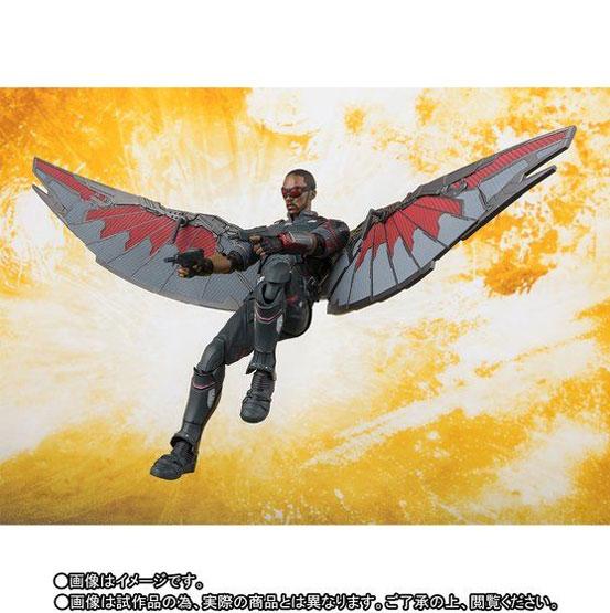 S.H.Figuarts ファルコン(アベンジャーズ/インフィニティ・ウォー) 可動フィギュア がプレバンにて予約開始! 0608hobby-falcon-IM003
