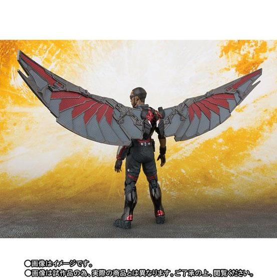 S.H.Figuarts ファルコン(アベンジャーズ/インフィニティ・ウォー) 可動フィギュア がプレバンにて予約開始! 0608hobby-falcon-IM004