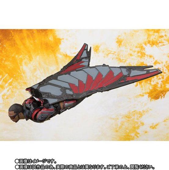 S.H.Figuarts ファルコン(アベンジャーズ/インフィニティ・ウォー) 可動フィギュア がプレバンにて予約開始! 0608hobby-falcon-IM005