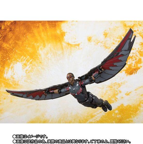 S.H.Figuarts ファルコン(アベンジャーズ/インフィニティ・ウォー) 可動フィギュア がプレバンにて予約開始! 0608hobby-falcon-IM006