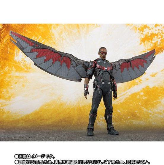 S.H.Figuarts ファルコン(アベンジャーズ/インフィニティ・ウォー) 可動フィギュア がプレバンにて予約開始! 0608hobby-falcon-IM007