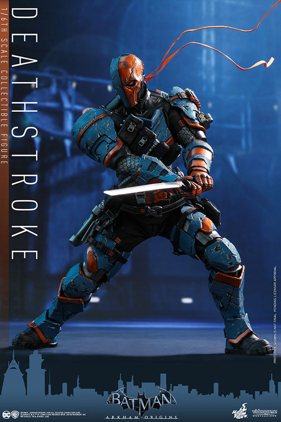 ビデオゲーム・マスターピース バットマン:アーカム・ビギンズ デスストローク 可動フィギュアが予約開始! 0620hobby-deth-IM003