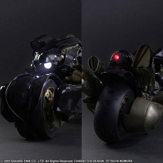 ライトアップギミックも搭載!プレイアーツ改 FF7 アドベントチルドレン クラウド・ストライフ&フェンリル可動フィギュアが登場! 0621hobby-cloud-IM002