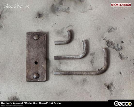 Gecco Bloodborne/ ハンターズ・アーセナル 教会の石鎚・大砲・獣肉断ち が登場!コレクションボードも再販! 0701hobby-hunters-IM007