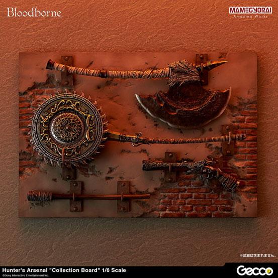 Gecco Bloodborne/ ハンターズ・アーセナル 教会の石鎚・大砲・獣肉断ち が登場!コレクションボードも再販! 0701hobby-hunters-IM008