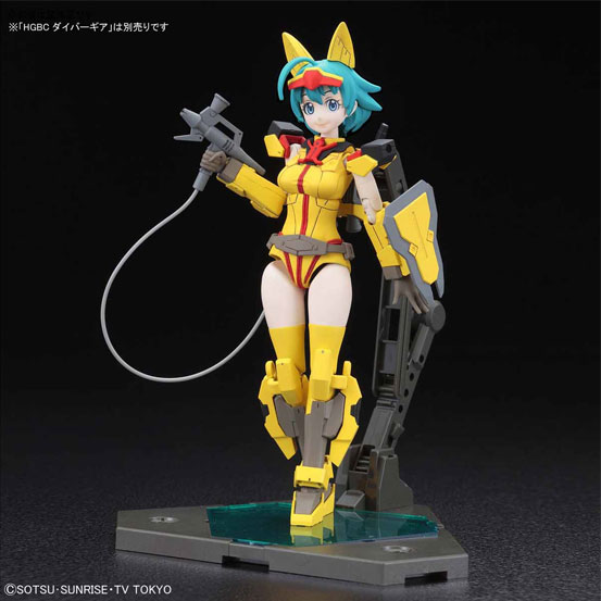Figure-rise Standard BUILD DIVERS ダイバーナミ など6点。ガンダム ビルドダイバーズ 新作情報※7月21日更新 0704hobby-bd-IM008