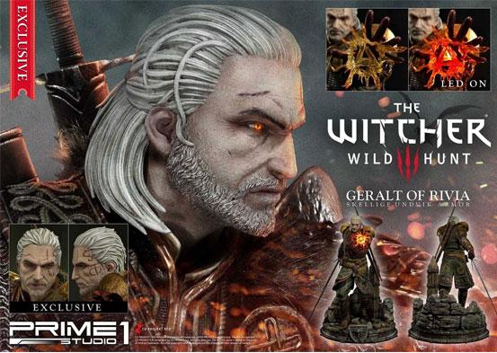 ウィッチャー3 ワイルドハント ゲラルト スケリッジ・アーマー 1/4フィギュアが予約開始!左手にはLEDライトが内蔵し魔法を展開! 0707hobby-witcher-IM009