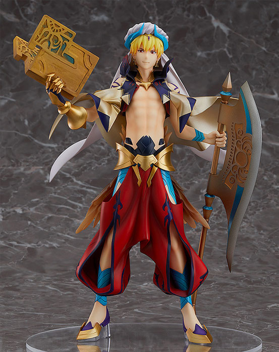 第三再臨の衣装で立体化!Fate/Grand Order キャスター/ギルガメッシュ フィギュアが予約開始! 0712hobby-gil-IM002