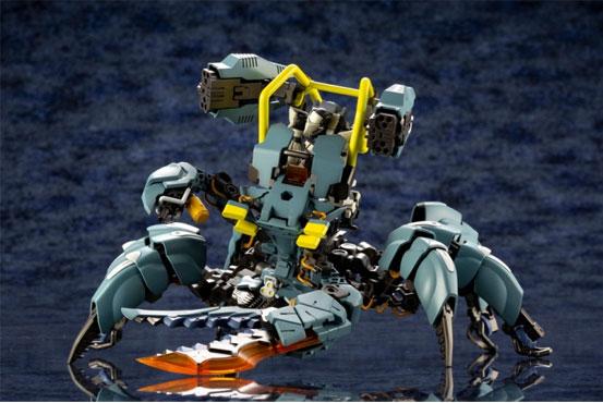 ヘキサギア アビスクローラー/バンディットホイール が登場!クモ型の「アビスクローラー」にバイク型の「バンディットホイール」! 0714hobby-hexa-IM005