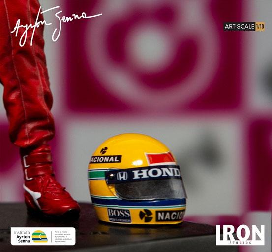 アイルトン・セナ 1988 日本GP 1/10 アートスケー世ル アイアンスタジオ スタチューが登場! 0717hobby-sena-IM008