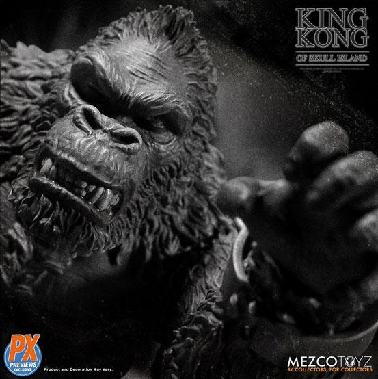 キング・コング スカル・アイランド プレビュー限定 ブラック&ホワイト ver が予約開始!限定版として頭蓋骨などが追加付属! 0721hobby-kingkong-IM004