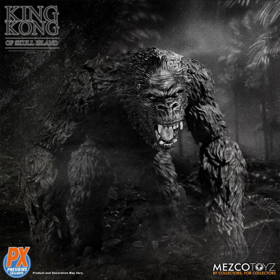 キング・コング スカル・アイランド プレビュー限定 ブラック&ホワイト ver が予約開始!限定版として頭蓋骨などが追加付属! 0721hobby-kingkong-IM005