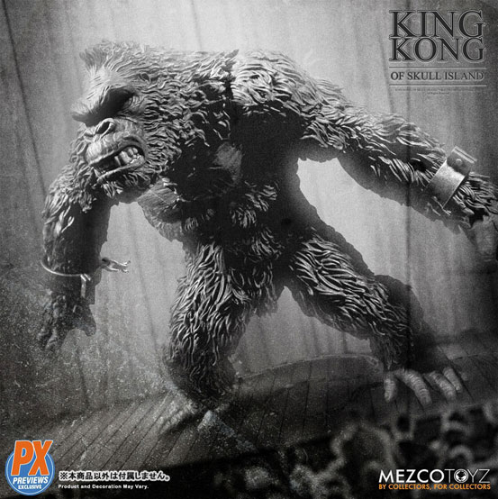 キング・コング スカル・アイランド プレビュー限定 ブラック&ホワイト ver が予約開始!限定版として頭蓋骨などが追加付属! 0721hobby-kingkong-IM006