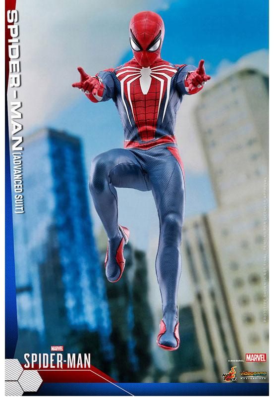 ビデオゲーム・マスターピース 1/6 スパイダーマン(アドバンスド・スーツ版) 可動フィギュアが予約開始!豊富なアクセサリーが付属! 0726hobby-spider-IM002