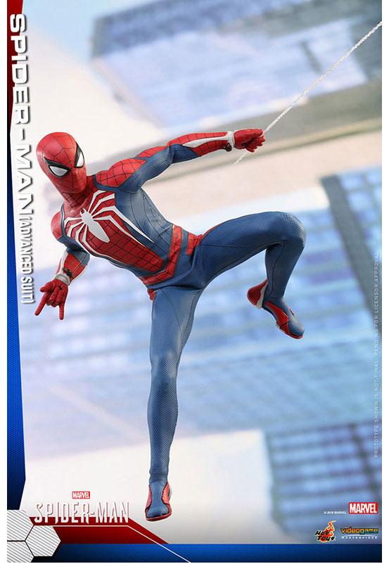 ビデオゲーム・マスターピース 1/6 スパイダーマン(アドバンスド・スーツ版) 可動フィギュアが予約開始!豊富なアクセサリーが付属! 0726hobby-spider-IM003