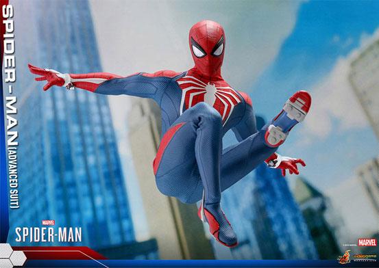 ビデオゲーム・マスターピース 1/6 スパイダーマン(アドバンスド・スーツ版) 可動フィギュアが予約開始!豊富なアクセサリーが付属! 0726hobby-spider-IM004