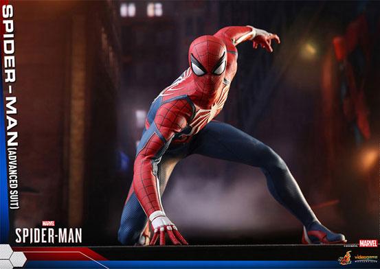 ビデオゲーム・マスターピース 1/6 スパイダーマン(アドバンスド・スーツ版) 可動フィギュアが予約開始!豊富なアクセサリーが付属! 0726hobby-spider-IM005