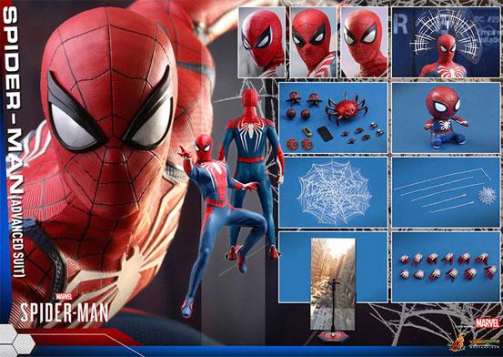 ビデオゲーム・マスターピース 1/6 スパイダーマン(アドバンスド・スーツ版) 可動フィギュアが予約開始!豊富なアクセサリーが付属! 0726hobby-spider-IM006