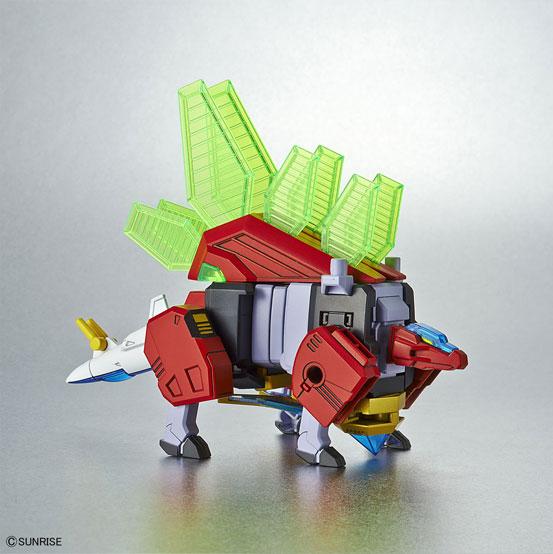 熱血最強ゴウザウラー HG 1/300 ゴウザウラー プラモデルが12月22日に発売決定!プラモデルながら合体変形を実現! 1212hobby-gosaurer-IM008