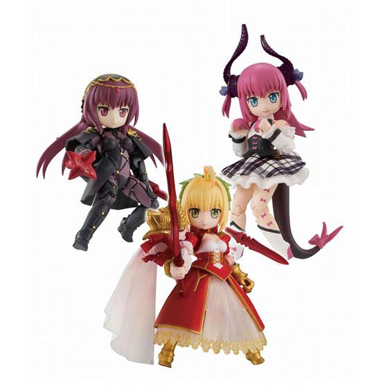 デスクトップアーミー Fate/GO 第2弾 3個入りBOX が登場!ネロ、エリザベート、スカサハがラインナップ! 0801hobby-dta-fgo-IM001