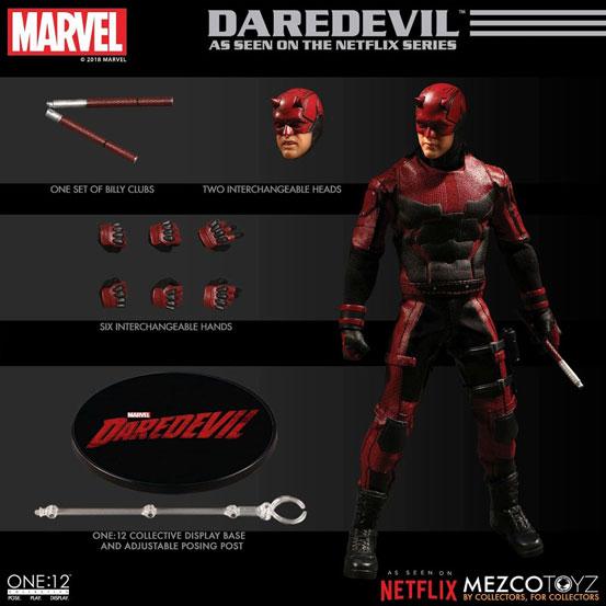 ワン12コレクティブ/ Marvel デアデビル: デアデビル マット・マードック メズコ 可動フィギュアが予約開始! 0808hobby-daredevil-IM001