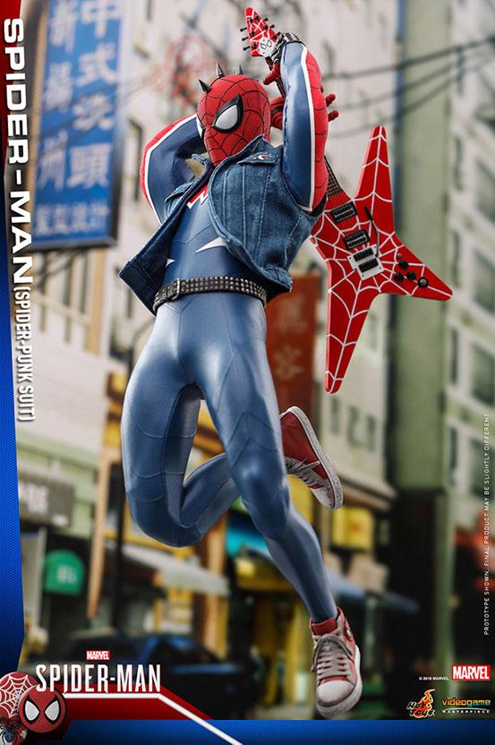 ビデオゲーム・マスターピース 1/6 スパイダーマン(スパイダー・パンク・スーツ版) 可動フィギュアが予約開始! 0910hobby-spidy-punk-IM002