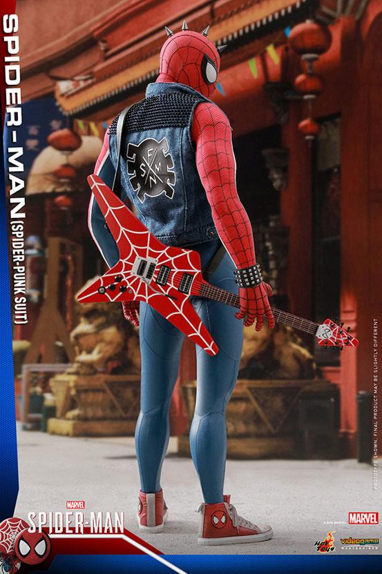 ビデオゲーム・マスターピース 1/6 スパイダーマン(スパイダー・パンク・スーツ版) 可動フィギュアが予約開始! 0910hobby-spidy-punk-IM004