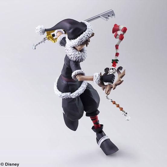BRING ARTS KINGDOM HEARTS II ソラ ハロウィンタウンVer./クリスマスタウンVer. 可動フィギュアが予約開始! 0918hobby-kh-IM002
