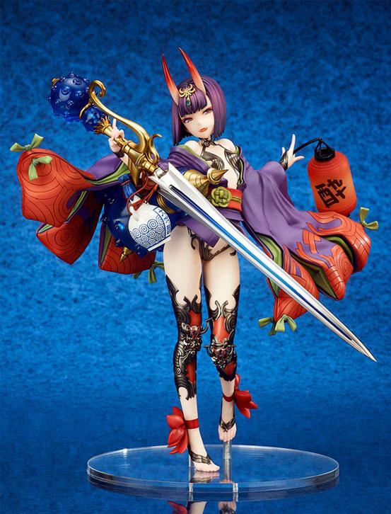 Fate/Grand Order アサシン/酒呑童子 キューズQ フィギュアが予約開始!左手の提灯には発光ギミックを内蔵! 0919hobby-fgo-IM001