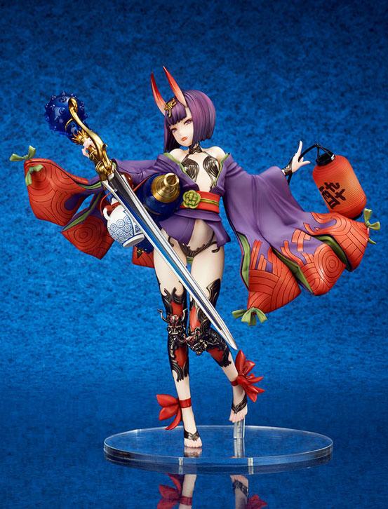Fate/Grand Order アサシン/酒呑童子 キューズQ フィギュアが予約開始!左手の提灯には発光ギミックを内蔵! 0919hobby-fgo-IM002