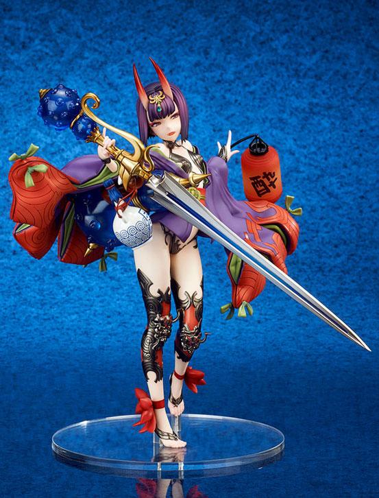 Fate/Grand Order アサシン/酒呑童子 キューズQ フィギュアが予約開始!左手の提灯には発光ギミックを内蔵! 0919hobby-fgo-IM003