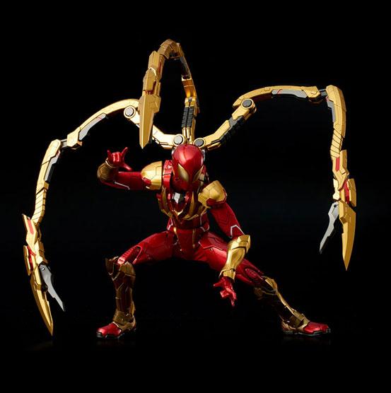 RE:EDIT 1/6 アイアン・スパイダー 千値練 可動フィギュアが登場!コミック版のビジュアルをアレンジして立体化! 1001hobby-ironspidy-IM002