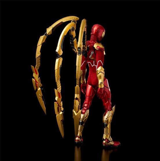 RE:EDIT 1/6 アイアン・スパイダー 千値練 可動フィギュアが登場!コミック版のビジュアルをアレンジして立体化! 1001hobby-ironspidy-IM005