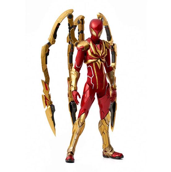 RE:EDIT 1/6 アイアン・スパイダー 千値練 可動フィギュアが登場!コミック版のビジュアルをアレンジして立体化! 1001hobby-ironspidy-IM006