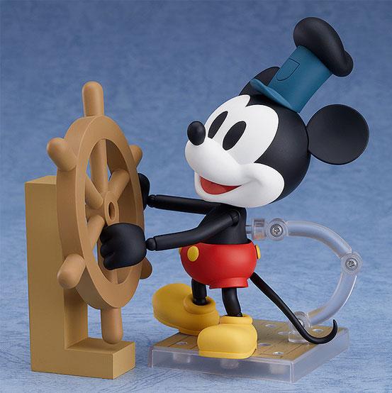 ねんどろいど ミッキーマウス 1928 Ver.(カラー/シロクロ) 可動フィギュアが予約開始! 1002hobby-micky-IM001