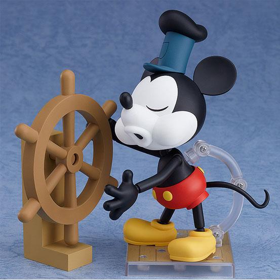 ねんどろいど ミッキーマウス 1928 Ver.(カラー/シロクロ) 可動フィギュアが予約開始! 1002hobby-micky-IM002