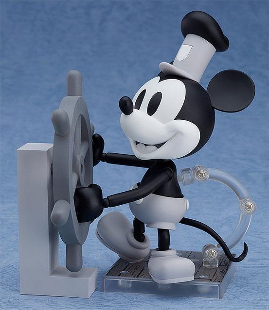 ねんどろいど ミッキーマウス 1928 Ver.(カラー/シロクロ) 可動フィギュアが予約開始! 1002hobby-micky-IM003