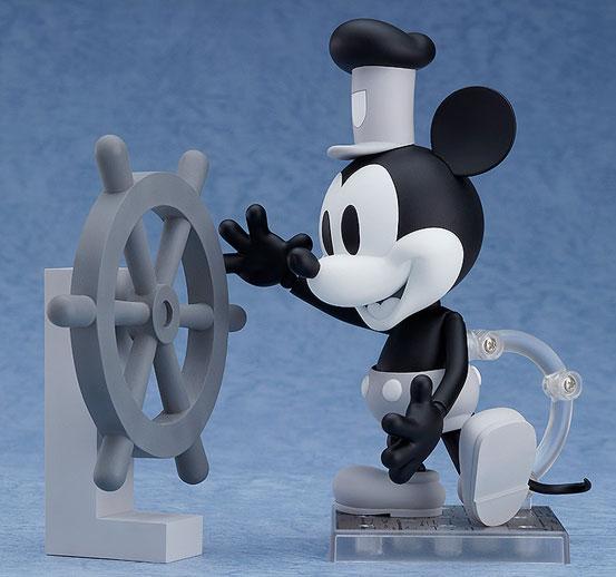 ねんどろいど ミッキーマウス 1928 Ver.(カラー/シロクロ) 可動フィギュアが予約開始! 1002hobby-micky-IM004